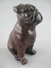 Zeitgenössisches Porzellan mit Hunde-Motiv