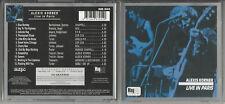 "ALEXIS KORNER ""Live in Paris"" + ""Testament"" 2 Einzell-CDs - Neuwertig/Near mint"