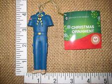 Cub Scout Boy Scouts of America Uniform Blue Christmas Tree Ornament Kurt Adler