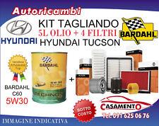 KIT TAGLIANDO HYUNDAI TUCSON 1.7 CRDI 104KW DAL 6/2015 IN POI + 5L BARDAHL 5W30