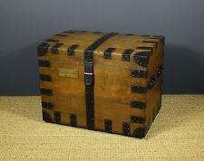 Oak Original Victorian Boxes & Chests (1837-1901)