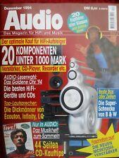 AUDIO 12/94,McINTOSH MC 275,MC 500,AKG K 222 IR,VIVANCO IR 7600,SR 2000,KOSS TD