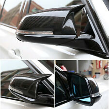 Carbon Fiber Style Rear Mirror Cover Caps For BMW F20 F21 F30 F32 F36 X1 M3