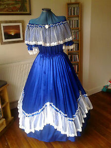 Victorian/American Civil War Ballgown Custom Made No Size Limit