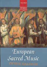 EUROPEAN SACRED MUSIC Oxford Choral Classics*