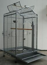 Brand New Bird Cage Parrot Aviary Open Roof 183cm * ED24
