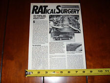 CHEVROLET MONTE CARLO SS 454 ORIGINAL 1988 ARTICLE