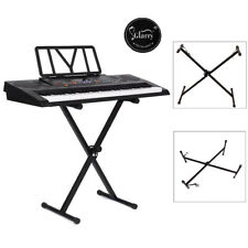 Keyboard Piano X Stand Electric Organ Rack Height Adjustable For 49 61 76 Key