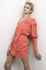 Magdalena Velevska one shoulder dress size 12