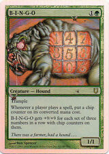 B-I-N-G-O Foil from Magic the Gathering Unhinged Set Near Mint to Mint Condition