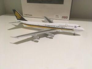 1/400 Singapore Airlines Boeing 747-300 Big Bird Aeroclassics