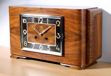ZENTRA Kaminuhr Tisch-/Buffetuhr mantle clock Art-Deco-Stil vintage KIENZLE Werk