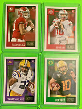 2020 SCORE FOOTBALL CARDS ALL THE ROOKIES GREAT PRICE YOU PICK.