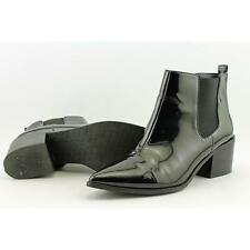 Patent Leather Ankle Boots for Women