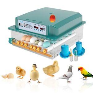 16/36 Eggs Fully Automatic Incubator Intelligent Chicken Duck Goose Egg Hatcher