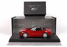 BBR Fiat 124 Spider Red Anniversary 1:18 LE 124pcs w/Case DELUXE BBRC1815V*New