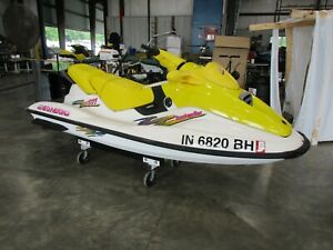 1997 Seadoo GTI 3 passenger  jet ski seadoo running NR