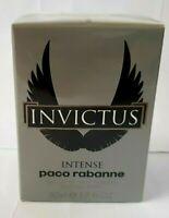 Paco Rabanne Invictus Intense EDT 50ml 1.7oz Eau de Toilette 100% Original NEW