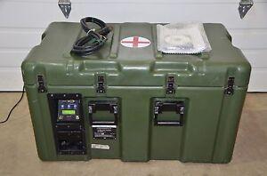 Acutemp HemaCool Portable  Storage Transport Refrigerator Freezer HMC-MIL-1