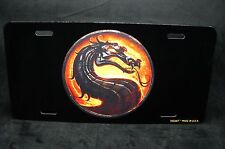 DRAGON METAL NOVELTY LICENSE PLATE TAG FOR CARS