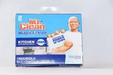 Mr. Clean Magic Eraser 2 Pads Brand New in Box {B38}