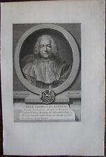 RENÉ CHARLES DE MAUPEOU, VICOMTE DE BRUYERES (1688-1775)