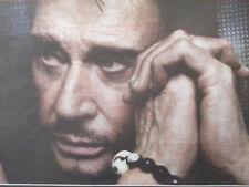 JOHNNY HALLYDAY : PUBLICITE POUR SON CONCERT DU 9 JUIN 2012 - 17/03/2011 -