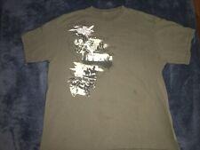 Vintage Cheyenne Frontier Days Men's XL 90s T-Shirt Green  Bull Riding Jets