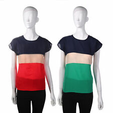 Unbranded Chiffon T-Shirts Plus Size for Women