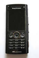 Sony Ericsson Walkman volcánico W902 Negro (Desbloqueado) Teléfono Móvil Buen Estado