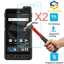 2PCS 9H Tempered Glass Film Screen Protector For Sonim XP7S / XP8 / XP5S
