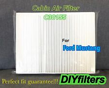 C38155 PREMIUM CABIN AIR FILTER for 2015 2016 2017 FORD MUSTANG