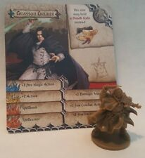 GRAYSON GRUBER - Snape Harry Potter - Zombicide Green Horde - COMBINE SHIPPING