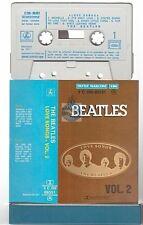 THE BEATLES cassette K7 tape LOVE SONGS vol 2 french press blue case '77