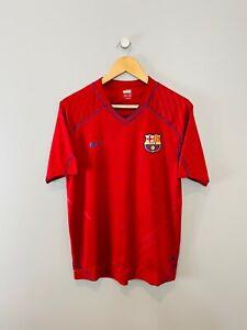 Barcelona 2006-07 Training Shirt (Medium) Nike Vintage Retro Football Shirt