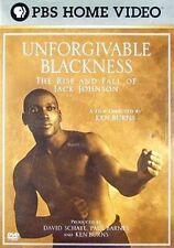 Unforgivable Blackness Rise & Fall Jack Johnson DVD Region 1 841887050623