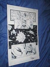 GREEN LANTERN #32 Original Art Page #4 ~Billy Tan/Rob Hunter JLA/MOVIE Justice Comic Art
