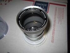 Schneider Kreuznach Retina TELE Xenar  f:4 135mm Lens w/ Case Kodak DKL Mount