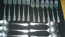 TOWLE STAINLESS JAPAN CHERRY HILL FLATWARE MIXED LOT