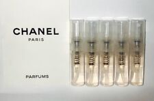 CHANEL CHANCE EDT // 5 SPRAY VIALS (2ML EACH) // 10ML'S // CHANEL FOR WOMEN EDT