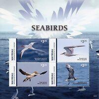 Mayreau Grenadines St Vincent 2015 MNH Seabirds 4v M/S I Sea Birds Gannet Terns