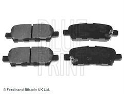 Fits Juke 1.2 1.6 DIG-T Petrol & 1.5 DCi Diesel 10-18 Rear Brake Pads