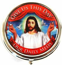 Jesus Pill Pill Box