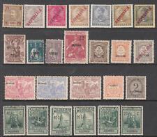 Azores Portuguese Colony pre-1932 mint hi val selection 25 diff stamps cv $43