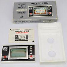 Nintendo game & watch turtle bridge UK CGL écran large TL-28 de jeux et