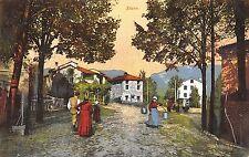 9381) STARO (VICENZA) DONNA TRASPORTA DUE SECCHI D'ACQUA.