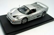 MATTEL HOT WHEELS M1198 Ferrari F50 die cast model car silver 1:18th scale