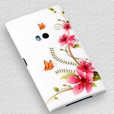 Design No.5 Silikon TPU Handy Cover Case Hülle Schale Schutz für Nokia Lumia 920