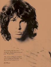 """JIM MORRISON TELA Poster Stampa con-preventivo 20 """"x26"""""""