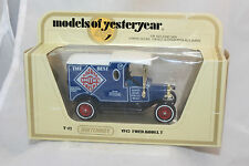 Matchbox Yesteryear #Y-12, 1912 Ford Model T Delivery, Smith's Potato Crisp, NIB